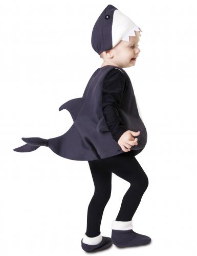 Lilla hajen - Maskeraddräkt för bebisar-1