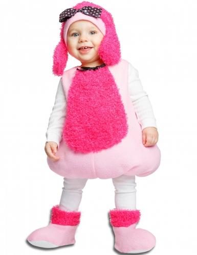 Rosa pudel - Maskeradkläder för bebisar