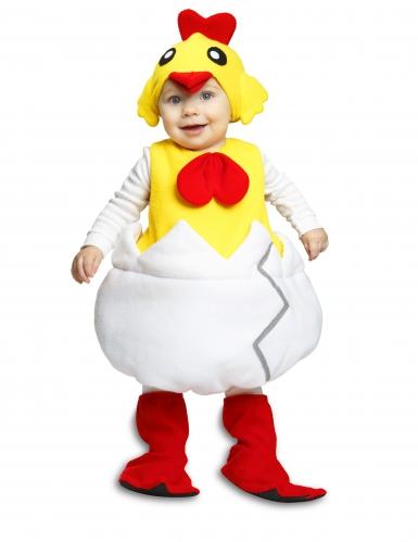 Kyckling i sitt skal - Maskeradkläder för bebisar till påsk