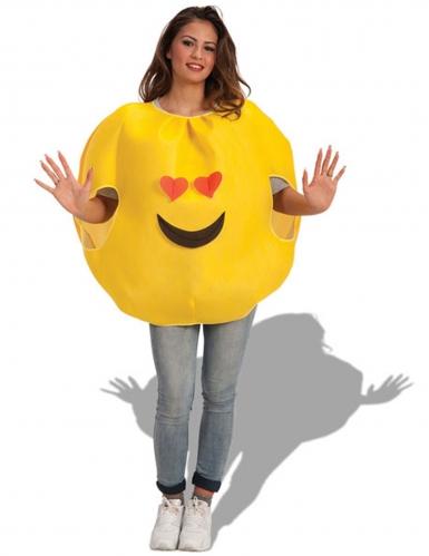 Kär smiley - Maskeraddräkt för vuxna