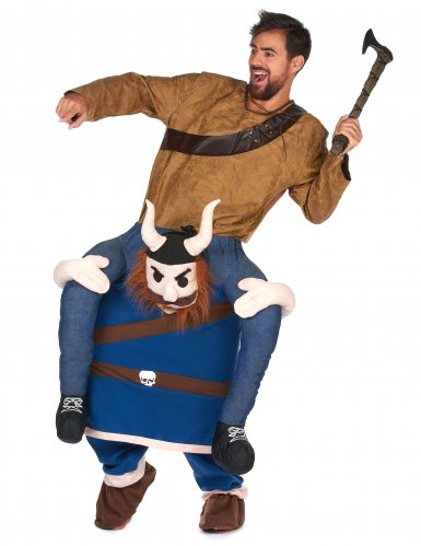 Stark vikingahövding - Carry-me dräkt fär vuxna
