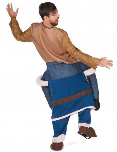 Stark vikingahövding - Carry-me dräkt fär vuxna-2