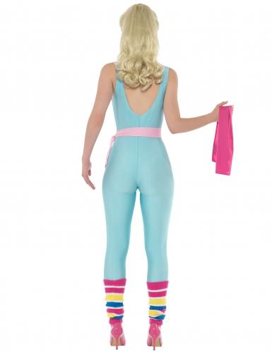 Sportiga Barbie™ med blå dräkt - Maskeradkläder för vuxna-2
