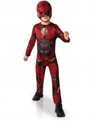 Flash™ dräkt från Justice League™ för barn till kalaset