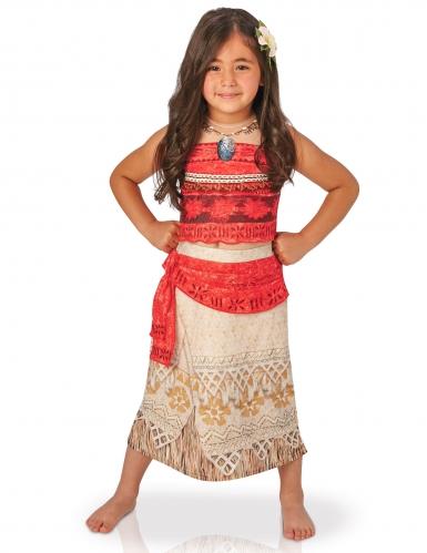 Vaiana™ lyxdräkt med hårspänne och bälte för barn