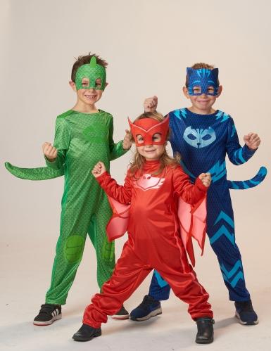Gecko från Pyjamashjältarna™ - Maskeraddräkt för barn-1