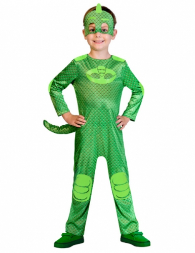 Gecko från Pyjamashjältarna™ - Maskeraddräkt för barn