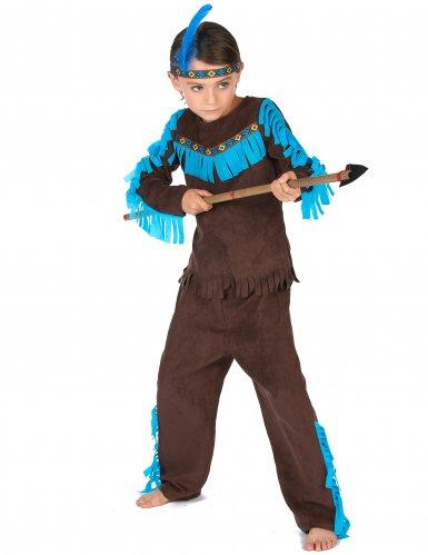 Dansande Laxen - Indiandräkt för barn-1