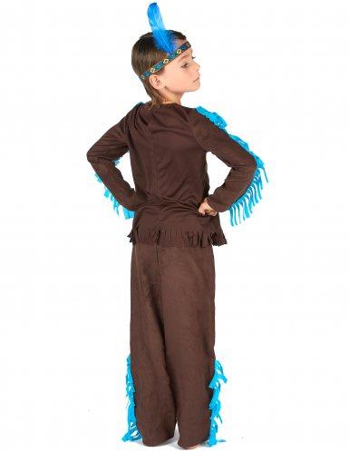 Dansande Laxen - Indiandräkt för barn-2