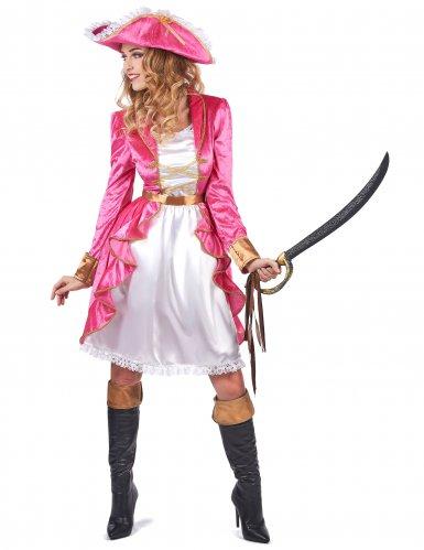 Baronessan Skytte - Piratdräkt för vuxna till maskeraden