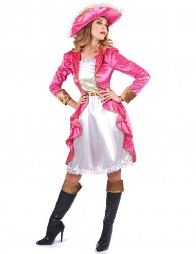 Baronessan Skytte - Piratdräkt för vuxna till maskeraden-1