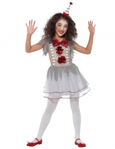 Clownen Vilda Vilma - Maskeradkläder för barn