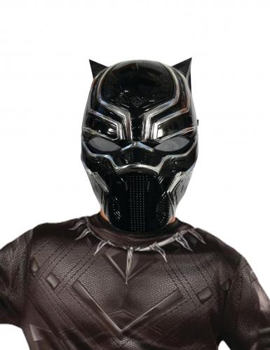 Halvmask från Black Panther™ för barn