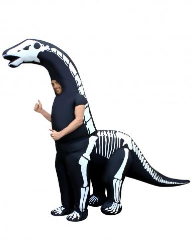 Upplåsbar dinosauriemaskeraddräkt för vuxnaMorphsuits™ - Halloween Maskeraddräkt