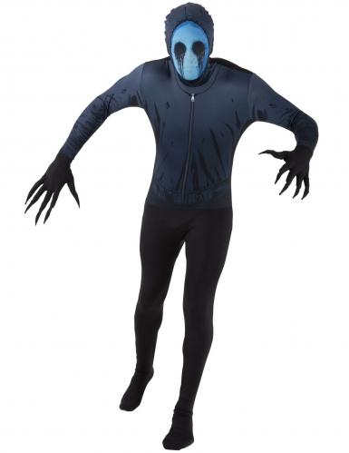 Ögonlös Jack™ Morphsuits™ för vuxna - Halloween Maskeraddräkt