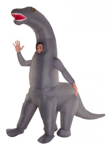 Upplåsbar dinosaurie för vuxna - Halloweendräkt för vuxna