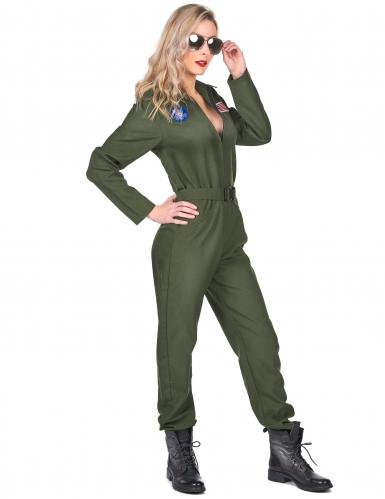 Stridspilot - Maskeradkläder för vuxna-1