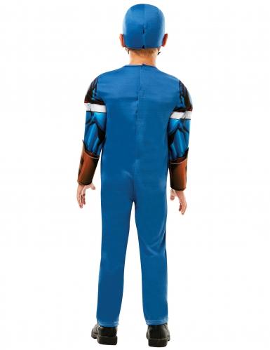 Captain America™ - Lysxig maskeradkostym för barn-1