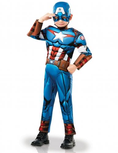 Captain America™ - Lysxig maskeradkostym för barn-2