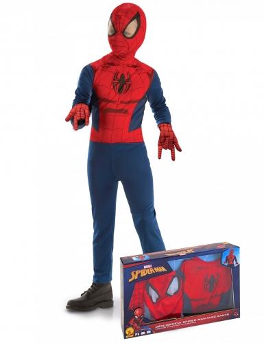 Spider-man™ - Klassisk maskeraddräkt i gåvobox för barn