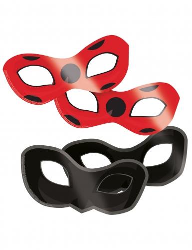 8 kartongmasker från Ladybug™ - Kalaskul