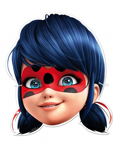 6 kartongmasker från Ladybug™