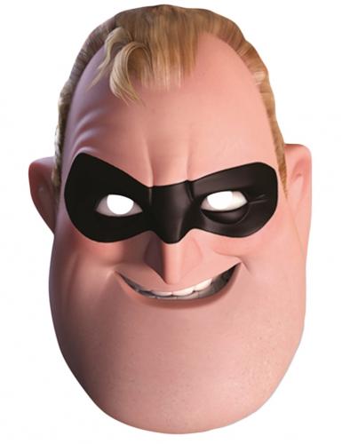 Mr. Incredbile - Mask för vuxna från Superhjältarna™