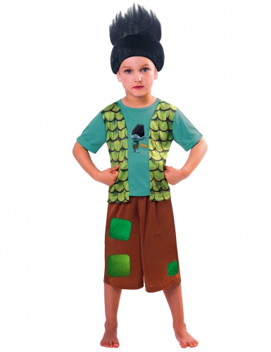 Branch från Trolls™ - Maskeradkläder för barn