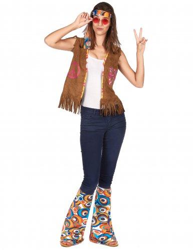 Pannband & benvärmare - Hippiekit för vuxna