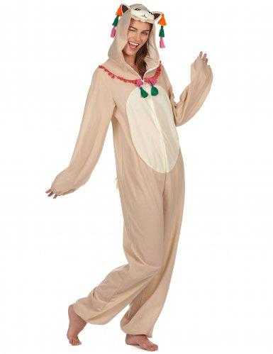 Ljuvlig lama - Maskeradkläder för vuxna-1