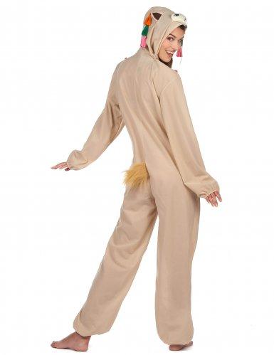 Ljuvlig lama - Maskeradkläder för vuxna-2
