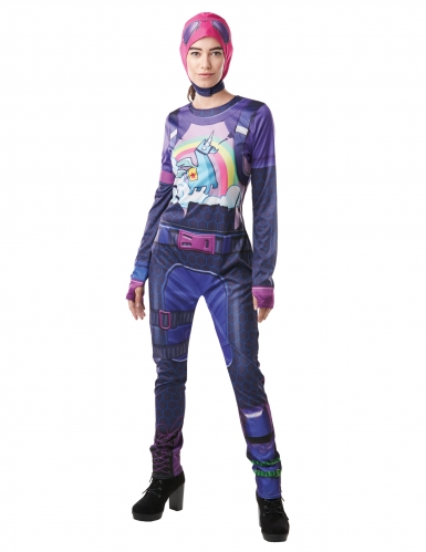Brite Bomber från Fortnite™ - Maskeradkläder för vuxna