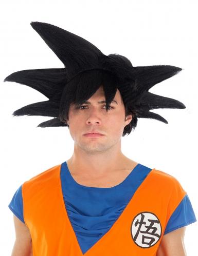 Goku Saiyan Dragon Ball Z™ peruk svart vuxen