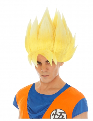 Goku Saiyan Dragon Ball Z™ peruk vuxen