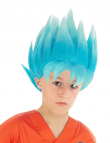 Dragon Ball Z Goku™ blå barnperuk