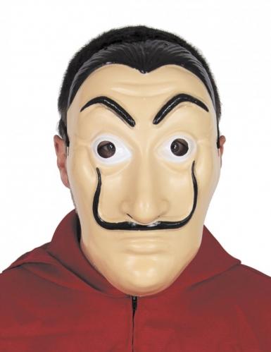 Knasig banditmask med mustasch