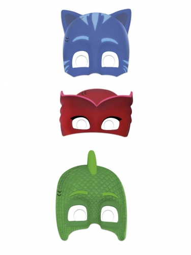 6 Pyjamashjältarna™-masker