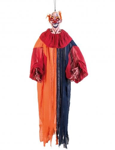 Hängande monsterclown Halloweendekoration 165 cm