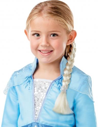 Frost 2 Elsa™ dräkt med fläta barn-1