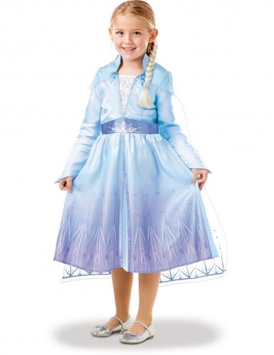 Frost 2 Elsa™ dräkt med fläta barn-3