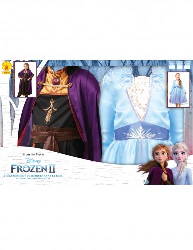 Frost 2™ Dräktpaket Elsa &Anna barn-2