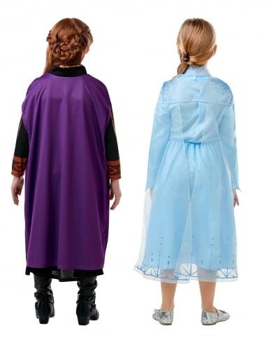 Frost 2™ Dräktpaket Elsa &Anna barn-1