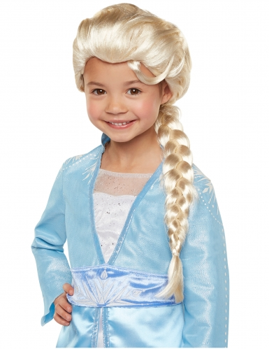 Frost 2 Elsa™ lyxig barnperuk