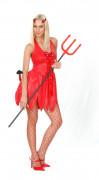 Djävul - utklädnad kvinna Halloween