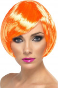 Kort orange kabaretperuk