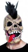 Punkig skelettmask Halloween vuxna
