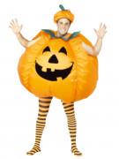 Uppblåsbar Pumpa Halloween Maskeraddräkt Vuxen