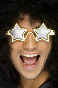 Gyllene Stjärnglasögon Vuxen
