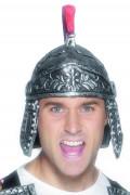 Romersk hjälm i metallimitation - Maskeradhatt för vuxna