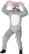 Elefant - utklädnad vuxen